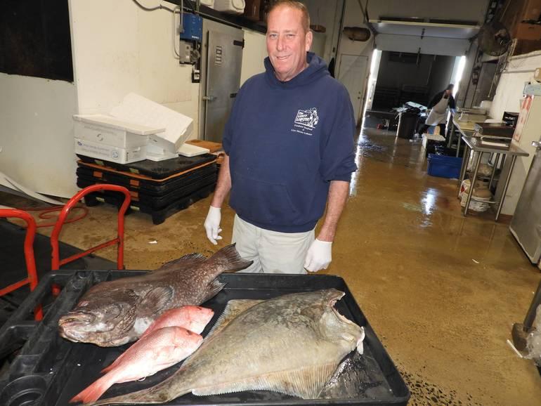 Dan Pollard fish l to r Fresh Halibut, Red Snapper and Grouper.jpg