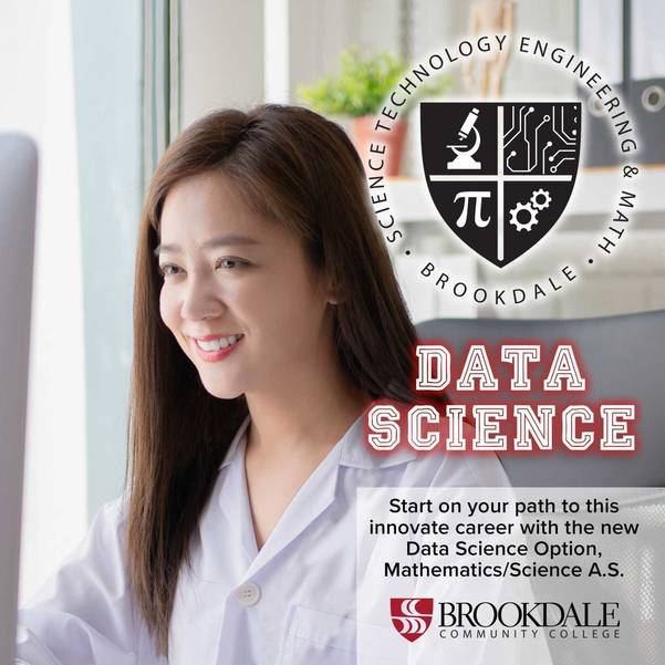 Brookdale STEM Institute Adds Data Science Option To Mathematics/Science Degree.