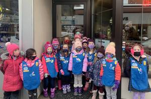 Girl Scouts of Cranford Learn from Story Walk