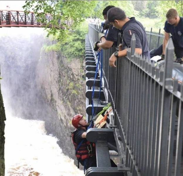 In Great Falls Rescue Paterson Fire Captain Scott Parkin Had Great Team, and History, On His Side