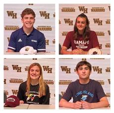 2021 Spring Signing Day in Warren: 21 More Watchung Hills Students to Play College Sports