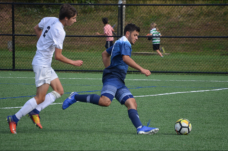 Dean Kirian scored the winning goal against Oratory Prep on Saturday to send Scotch Plains-Fanwood into the semifinal of the Union County Tournament.