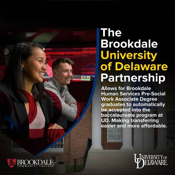Brookdale Community College Partners with the University of Delaware