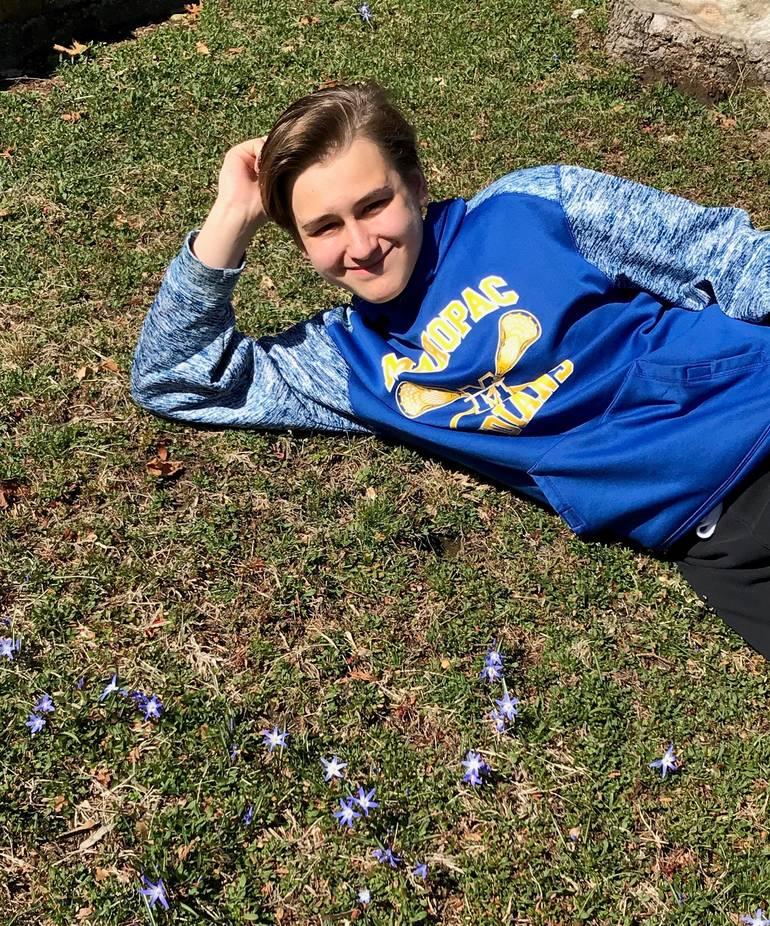 Denny Piekutowski finds some freshly blooming flowers!.jpg