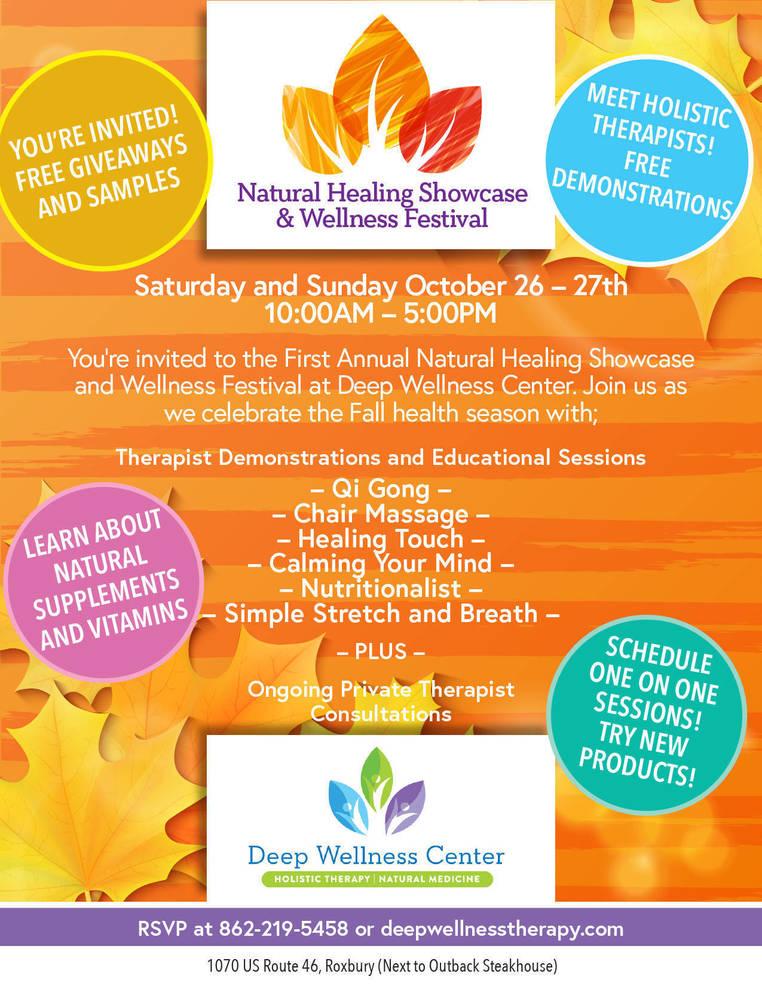 Natural Healing Showcase & Wellness Festival