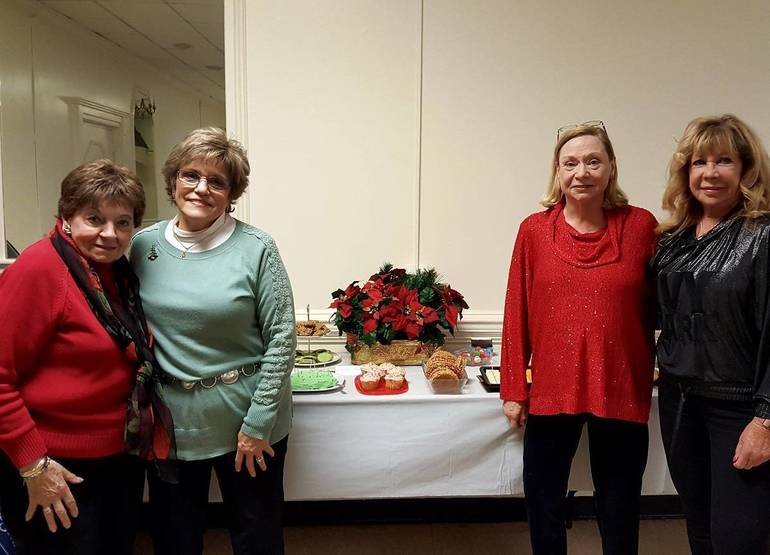 Grace Bertucci, Elaine Bolger, Nancy Stillman-Pender and Debbie Boyle