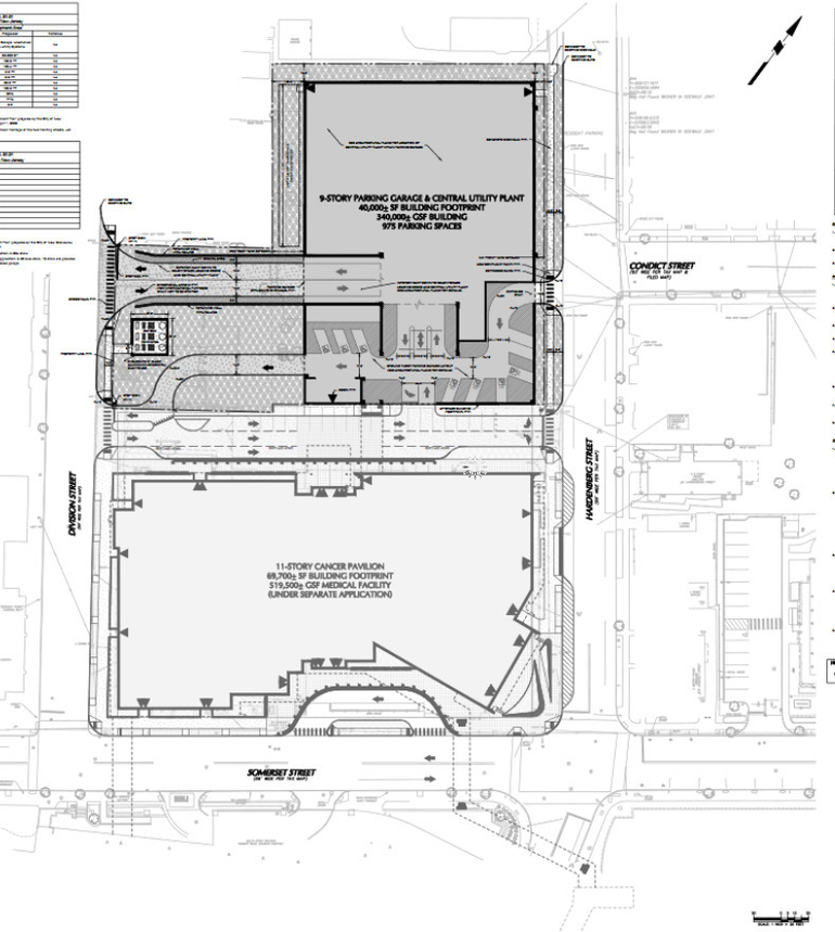 Application to Build 975-Space Garage Near Cancer Pavilion Set to Continue Tonight
