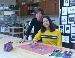 Carousel image 2a7e8d34a05441eb4312 debbie cella with student mariana porras