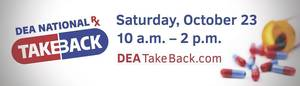 Operation Take Back Drug Event Comes to Morristown, Morris Plains and Randolph; Saturday Oct. 23