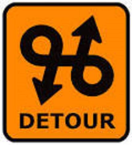 Top story 6b0ae92ee1c4139fb67a detour sign