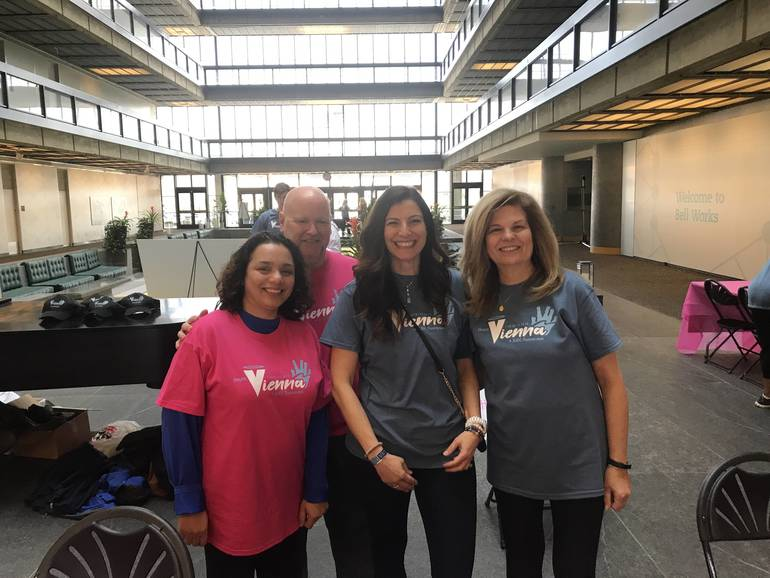 The Team Vienna Walk 4 SUDC Makes Waves at Bell Works in Holmdel