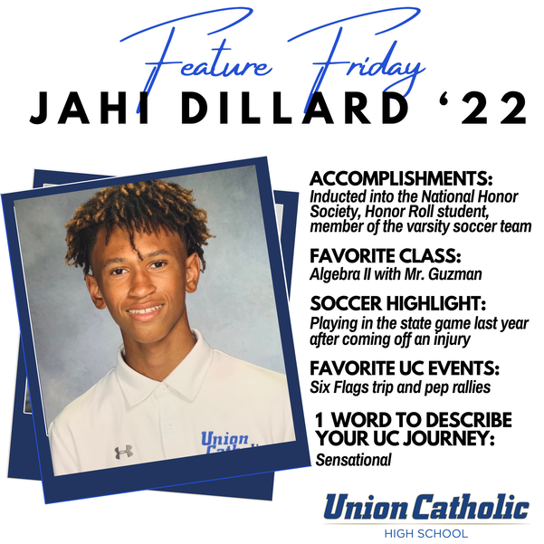 Union Catholic's Jahi Dillard Excels on Soccer Pitch And Classroom