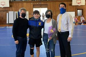 Cranford's Luke DiGiovanni Named Union County Conference Wrestler of the Week