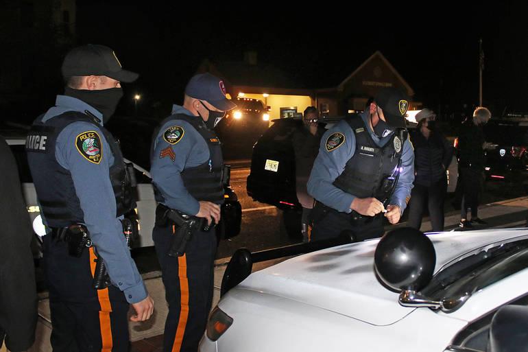 Raritan, Bridgewater Police Pay Tribute to Fallen Capitol Officer Brian Sicknick