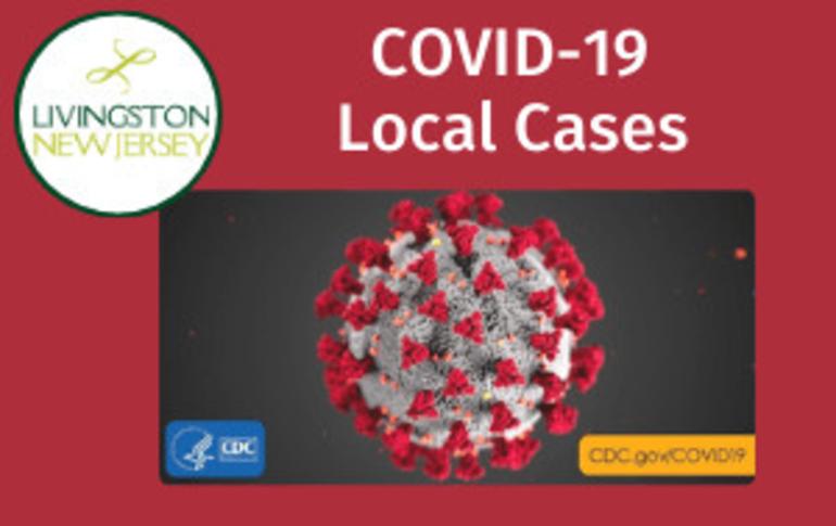 Livingston Surpasses 800 Coronavirus Cases, Records 62 New Cases in One Week