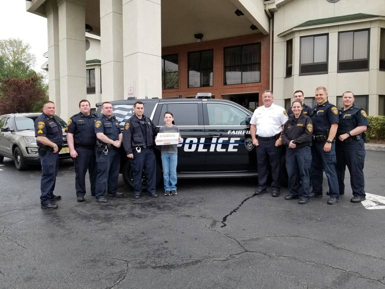 Fairfield Police Enjoy Visit From