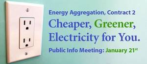 Streaming Meeting to Explain Energy Aggregation Set for Jan. 21