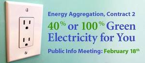 Public Information Session About Municipal Energy Aggregation Feb. 18 For South Orange Residents