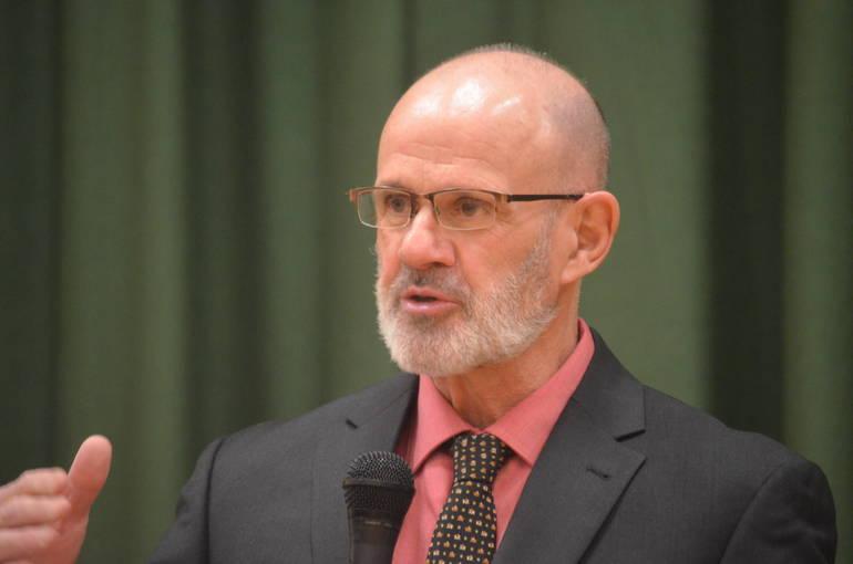 Scotch Plains-Fanwood High School principal Dr. David Heisey