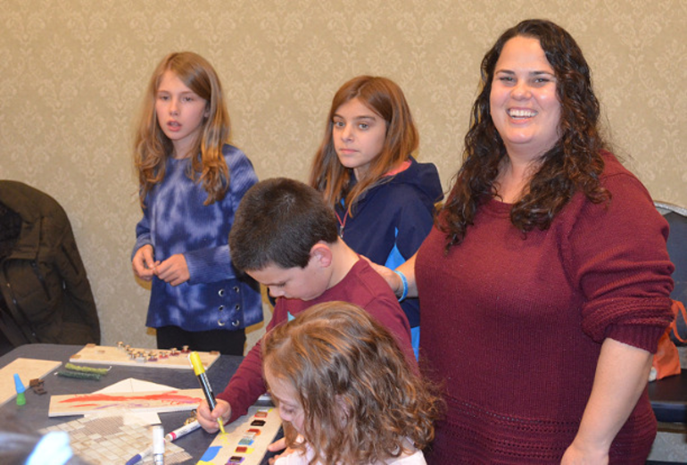 Scenes from the Congregation Beth Israel Hanukkah Party in Scotch Plains on Dec. 18.