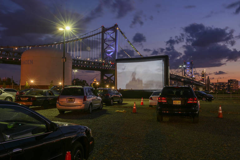 Drive-In Movies Provide Camden Families Chance to Gather Safely