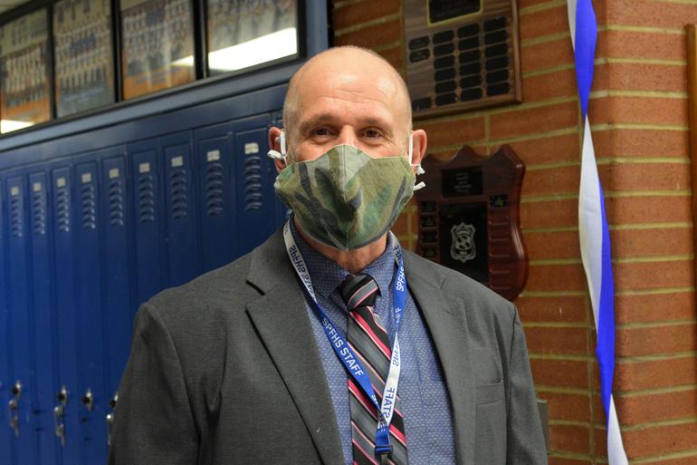 Dr. David Heisey, principal of Scotch Plains-Fanwood High School.