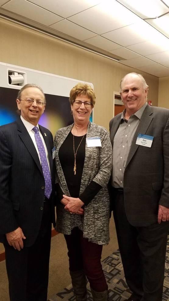 Dr.Lawrence Feinsod, Lynn Kasics, and President Dan Sinclair.jpeg