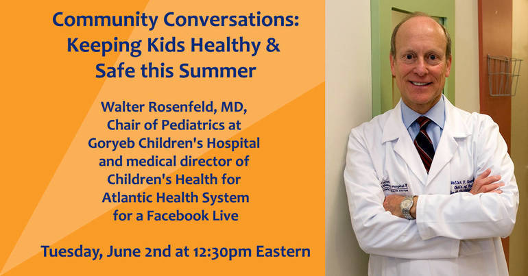Dr. Rosenfeld Facebook Live