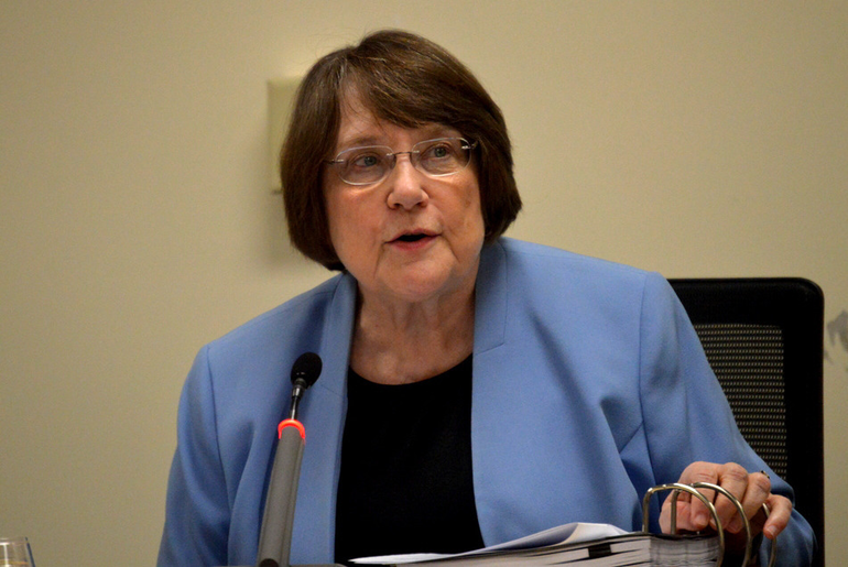 Dr. Margaret Hayes stepped down as superintendent of the Scotch Plains-Fanwood K-12 school district.