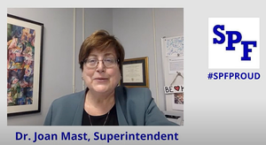 Scotch Plains-Fanwood SPFK12 school district superintendent, Dr. Joan Mast