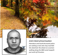 Composite Sketch Released in D & R Canal Towpath Assault