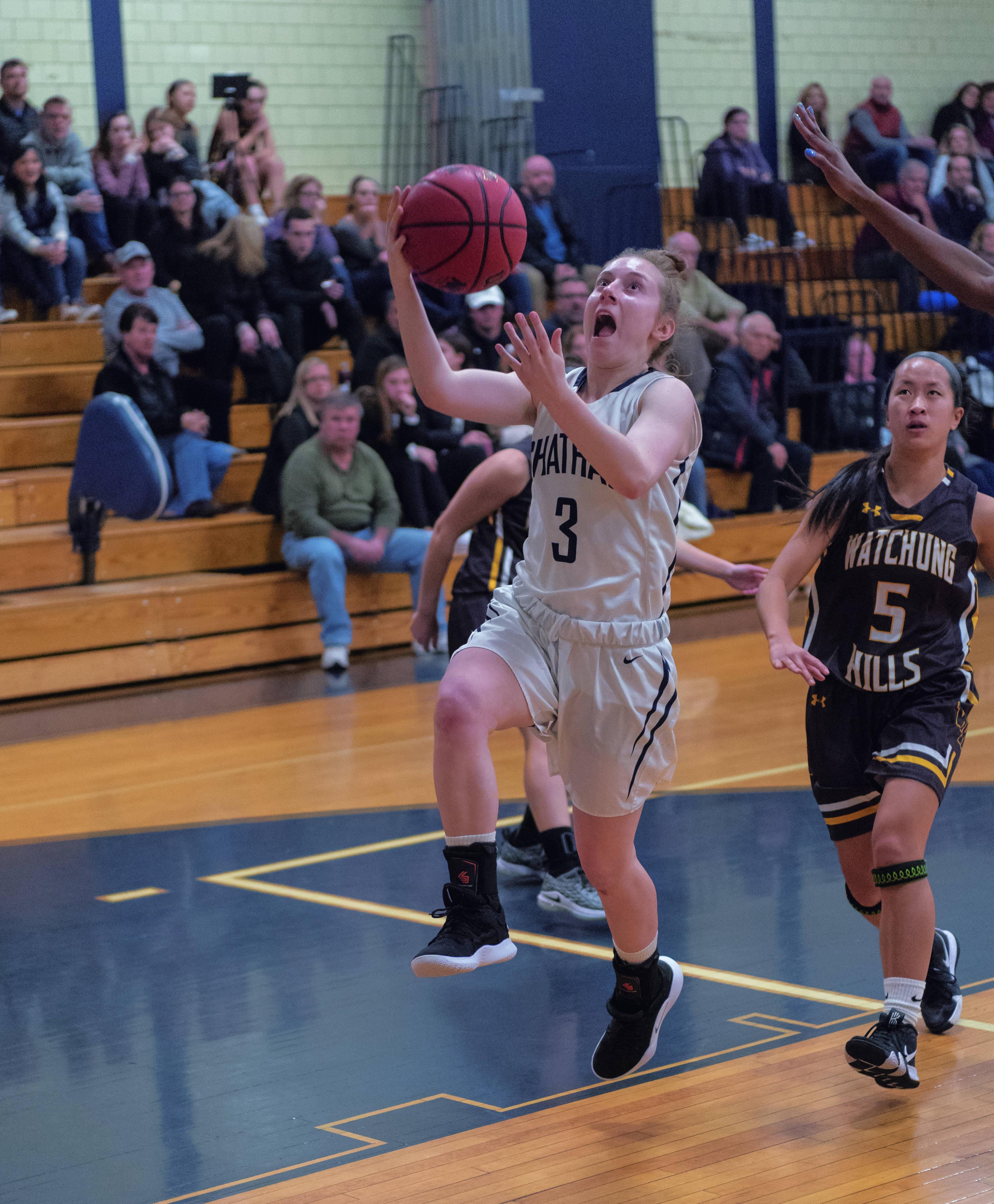Ford Drives Chatham Girls Basketball Past Watchung Hills
