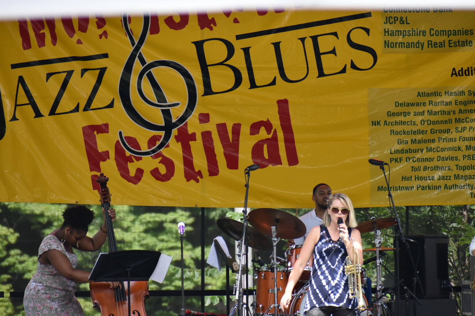 Happening Now! The 8th Annual Morristown Jazz and Blues Festival