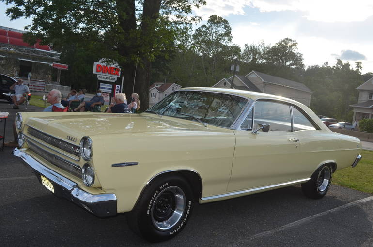 Car show tonight at Scotchwood Diner on Rte. 22 in Scotch Plains.