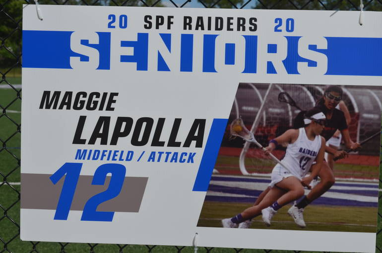 Scotch Plains-Fanwood girls lacrosse senior Maggie Lapolla