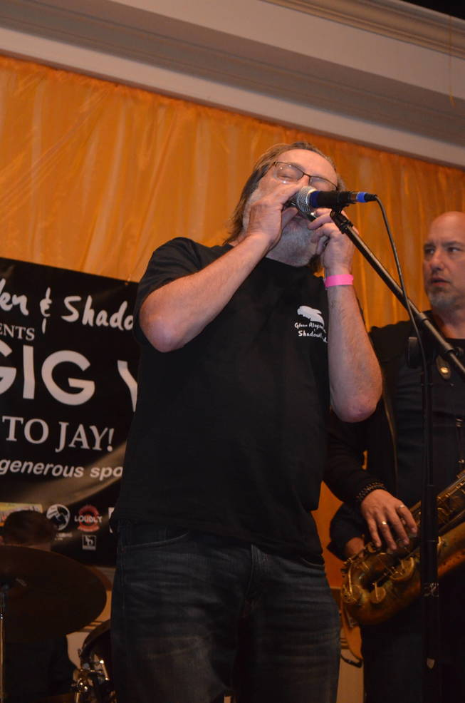 Southside Johnny having a party at Pig Gig V at the Italian American Club in Scotch Plains.