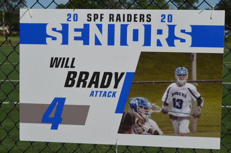 Scotch Plains-Fanwood boys lacrosse player Will Brady