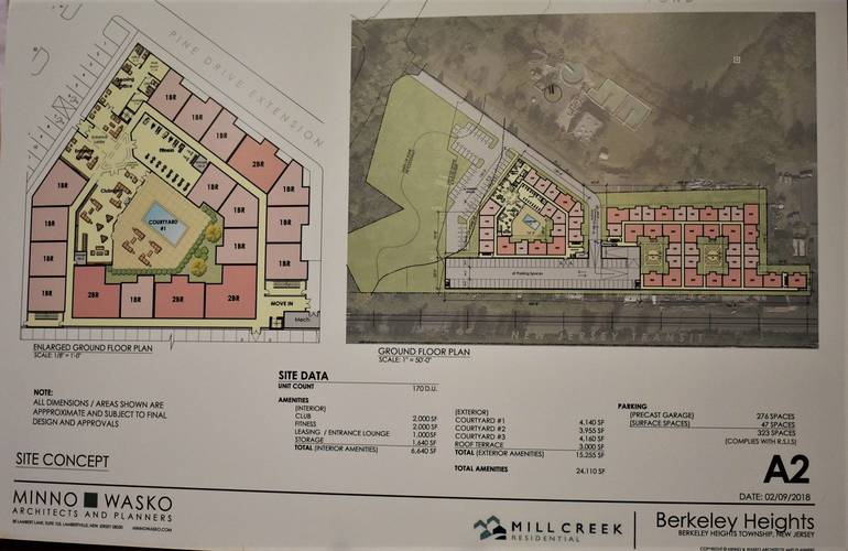Planners OK Redevelopment Plan for Spatz Property at End of Lone Pine Drive in Berkeley Heights