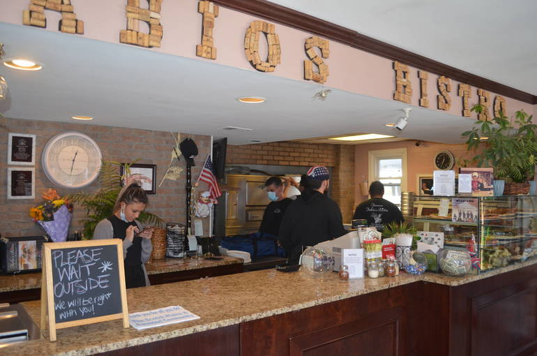 Fabio's Bistro on South Ave. in Fanwood
