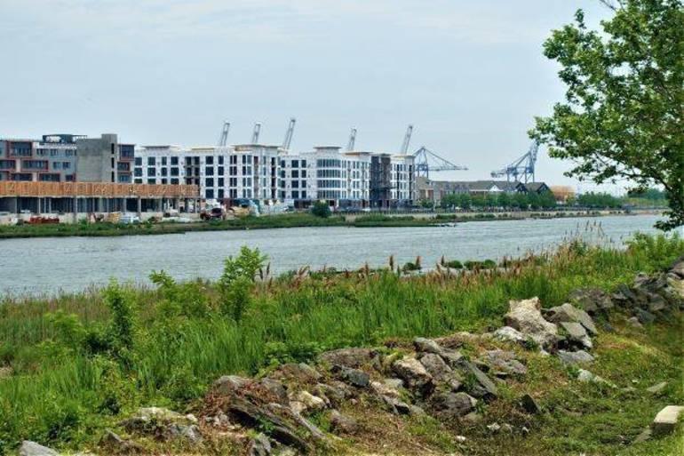 Davis Touts Proposed Pedestrian Bridge That Would Connect Waterfront Walkways