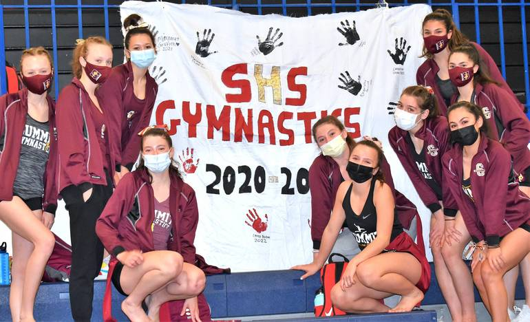 Summit Hilltopper Gymnast Catherine Singow Successfully Defends County All-Around Title