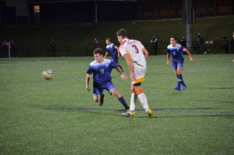 Scotch Plains-Fanwood boys soccer took on Bergen Catholic in the first game under the lights at Wexler Field.