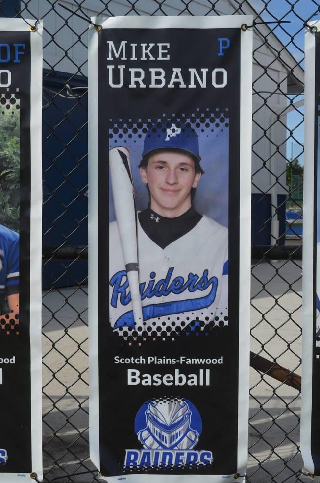 Scotch Plains-Fanwood baseball player Michael Urbano