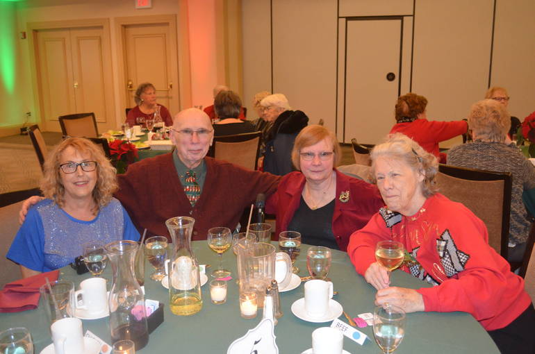 Scenes from the Fanwood Seniors' Holiday Luncheon at Shackamaxon Country Club in Scotch Plains