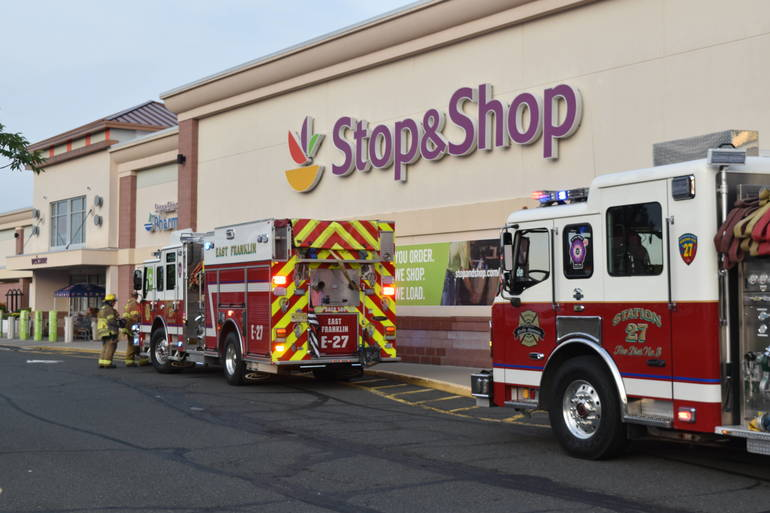 Franklin Township: Firefighters Called to 'Smoke Condition' at Stop & Shop