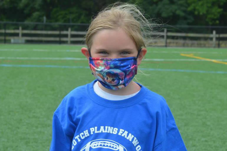 Scenes from the Scotch Plains-Fanwood PAL Football Camp 2020.
