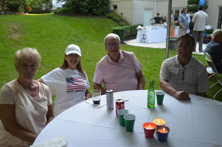 Scenes from Scotch Plains Mayor Al Smith's 'Almost Fourth of July' Fundraiser