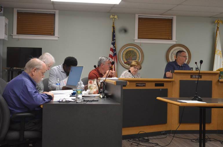 Fanwood Borough Council on Sept. 3, 2019.