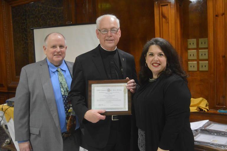 Dan Sullivan, Robert Gurske, and Chief Carolyn Sorge