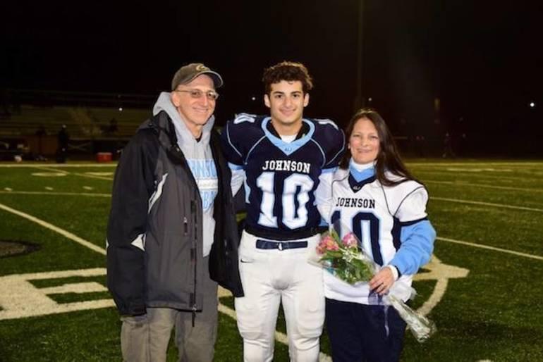 ALJ Celebrates Senior Night, and Unknowingly the Last Football Game of the Season